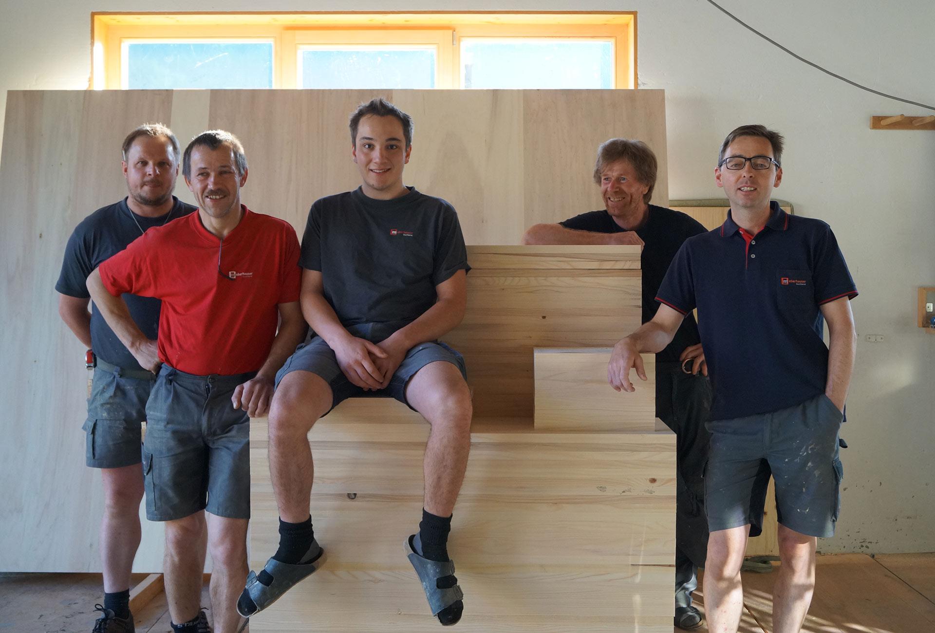 Tischlerei-Oberhauser-Team